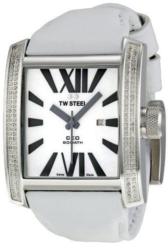 TW STEEL CEO Goliath 144 Diamond & White Gold Watch CE3015